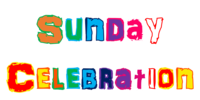 Sunday Celebration Graphic